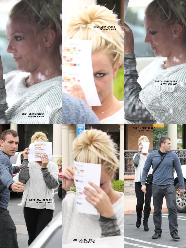 . Britney sortait d'un centre de fitness de Westlake Village, le 02 mai. .