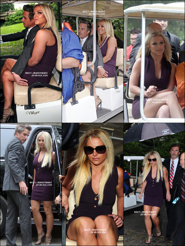 . Britney et Jason se rendaient à Wollman Rink à Central Park pour l'after-party, le 14 mai. .