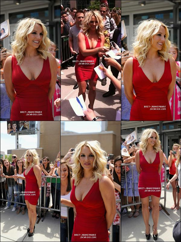 . Britney était à Providence pour les auditions de X Factor, le 27 juin. .