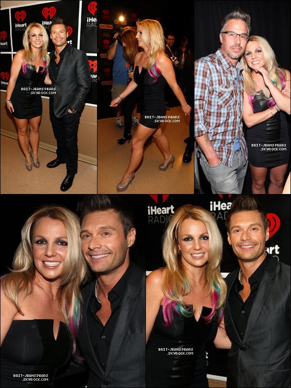. Britney et Ryan S. ouvraient le festival iHeartRadio Music à Las Vegas, le 21 septembre. .