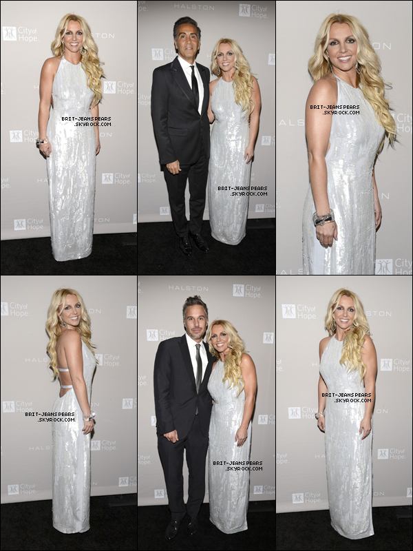 . Britney et Jason étaient présents au gala City of Hope à Los Angeles, le 10 octobre. .