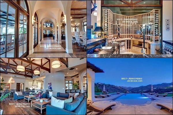 . Découvre des photos du nouveau manoir de Britney situé à Thousand Oaks ! .