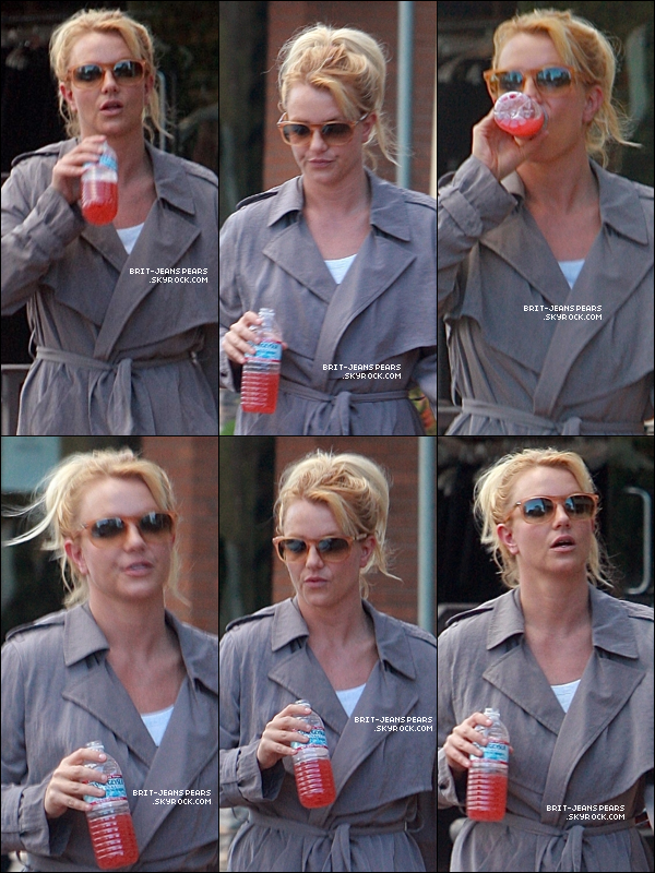 Britney sortait d 39 un salon de bronzage calabasas le for Salon de bronzage
