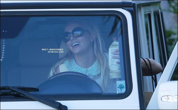 . Britney a été vue alors qu'elle faisait du shopping à Thousand Oaks, le 21 janvier. .