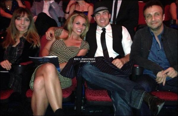 . Britney et son équipe allaient dîner à Meatball Spot à Las Vegas, le 23 mars. .