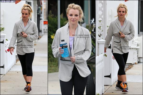 . Britney a été aperçue se rendant dans une salle de sport de Thousand Oaks, le 07 mai. .