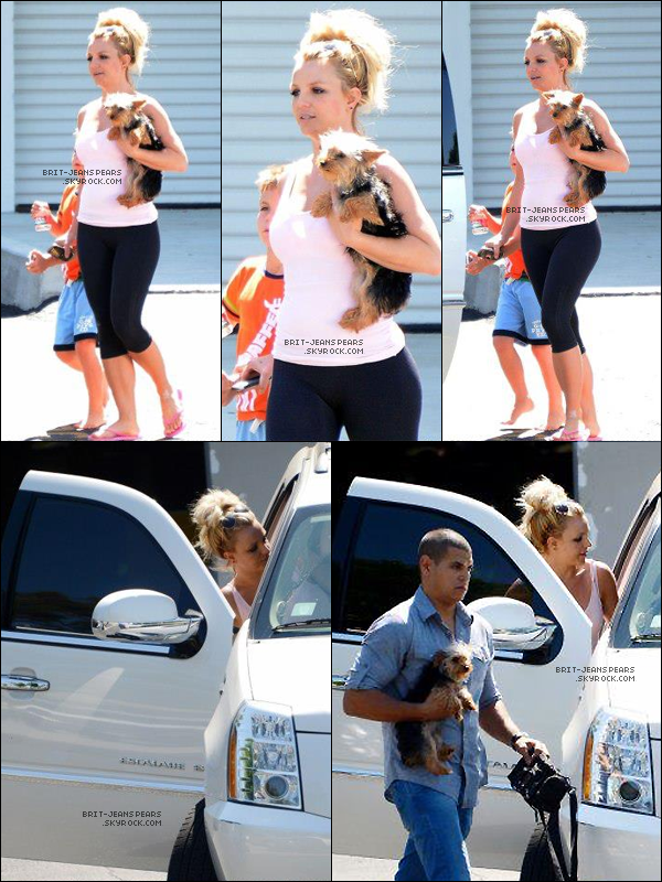 . Britney a été vue alors qu'elle était de sortie avec ses fils et Hannah, le 12 mai. .