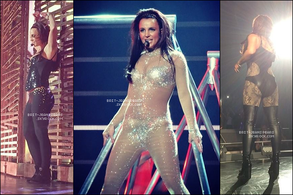 """. Découvre les plus belles photos du show """"Britney : Piece Of Me"""" à LV, le 18 février. ."""