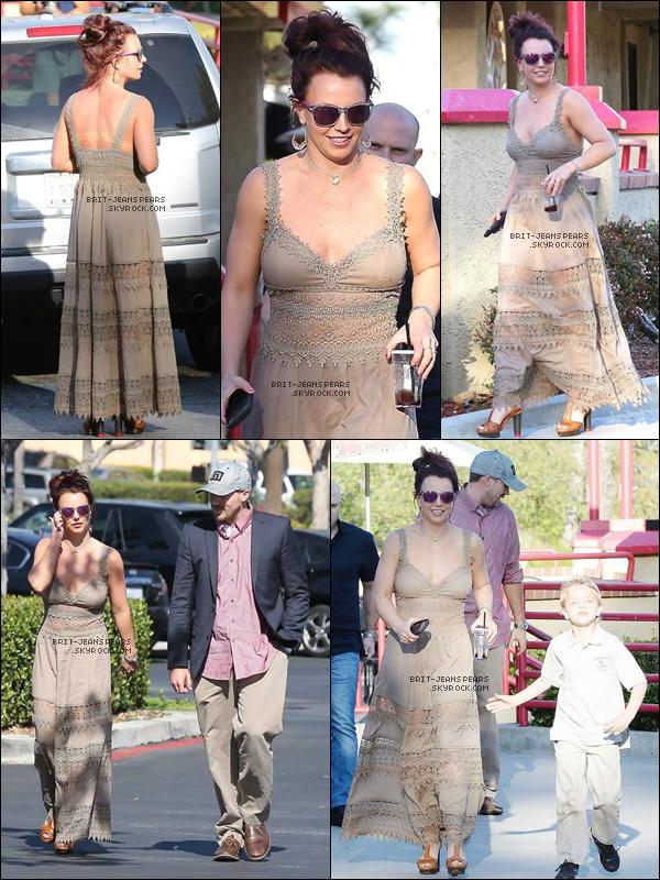 . Britney a été vue sortant d'une salle de gym' à Westlake Village, le 21 février. .