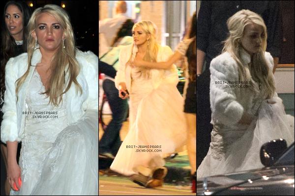 . Britney a été vue quittant le mariage de sa soeur Jamie Lynn en Louisiane, le 14 mars. .