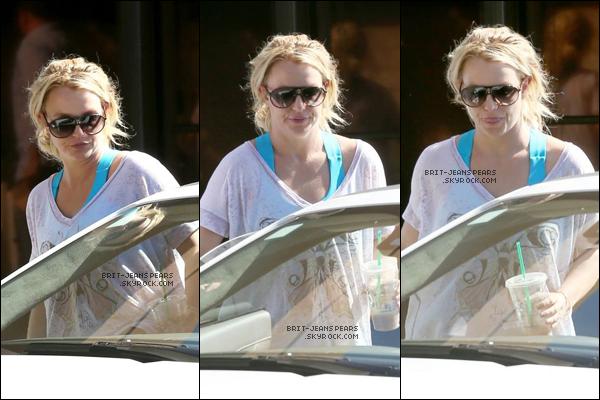 . Britney a été repérée alors qu'elle quittait un studio de danse, le 19 octobre. .