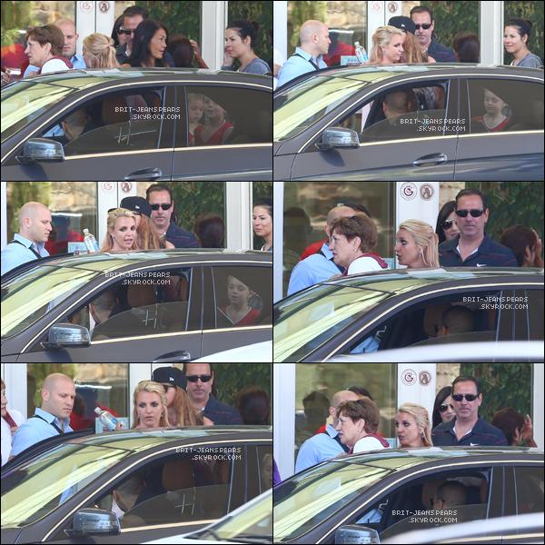 . Britney a été vue accompagnant ses fils à leur match de basket, le 28 juin. .