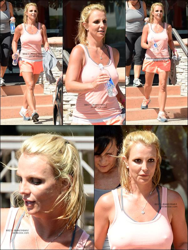 . Britney et Lynne ont été repéré quittant un cours de gym' à Thousand Oaks, le 17 juillet. .