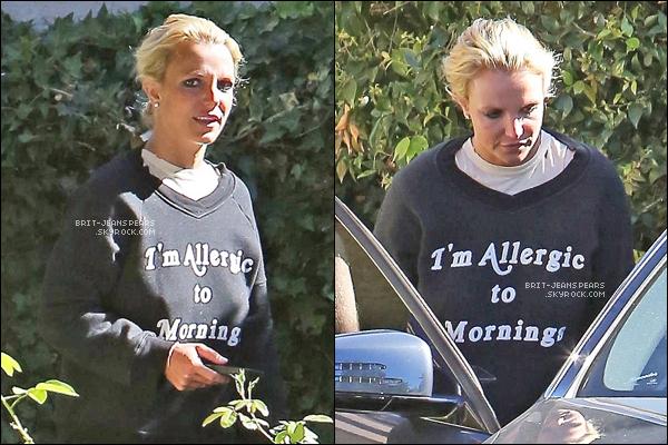 . Britney a été repérée se rendant à un rendez-vous d'affaires, le 23 juillet. .