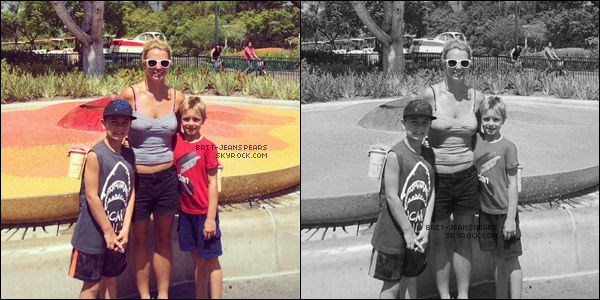. Britney et David ont été repéré allant déjeuner à Thousand Oaks, le 27 juillet. .