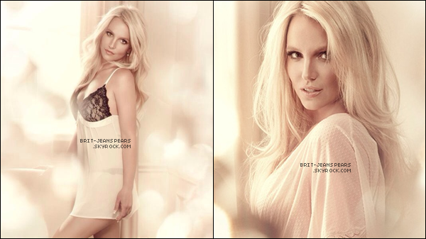 """. Découvrez de nouvelles photos de Britney pour sa marque de lingerie """"The Intimate"""". ."""