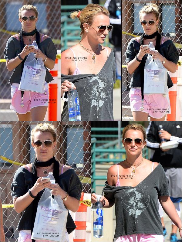 . Britney a été repérée sortant d'un rendez-vous chez son dermatologue, le 13 octobre. .