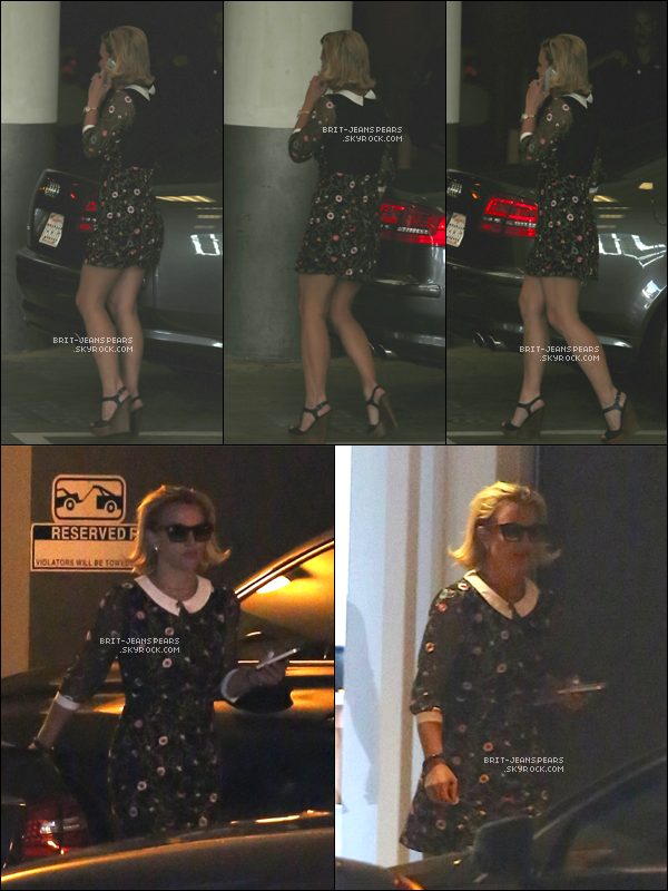 . Britney a été aperçue quittant une réunion d'affaires à Los Angeles, le 18 octobre. .