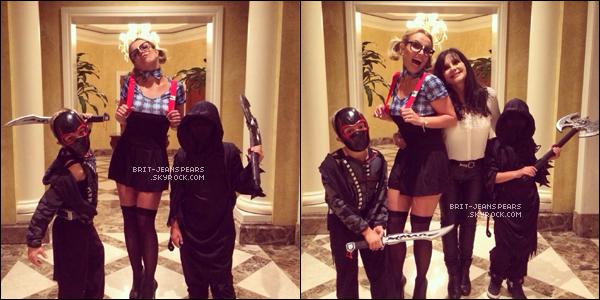 . Britney a été repérée alors qu'elle se promenait dans Los Angeles, le 29 octobre. .