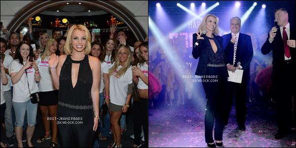 . Britney était présente lors de la soirée du #BritneyDay à Las Vegas, le 05 novembre. .