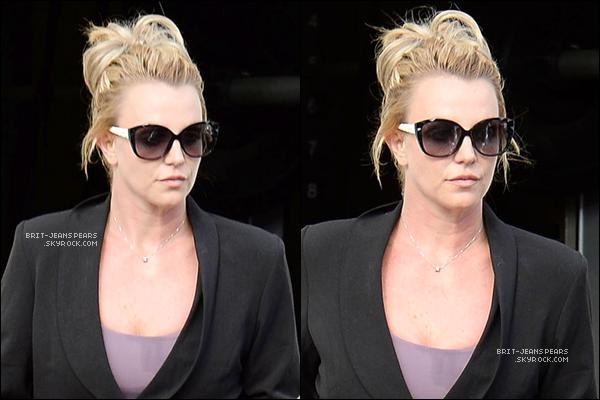 . Britney a été repérée alors qu'elle allait chercher à manger, le 19 novembre. .