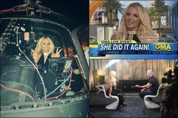 . Brit' annonçait sa résidence à Las Vegas pour Good Morning America, le 17 septembre. .