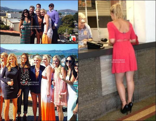 . Brit' a été vue avec sa mère Lynne et sa soeur Jamie Lynn à San Franciso, le 14 septembre. .