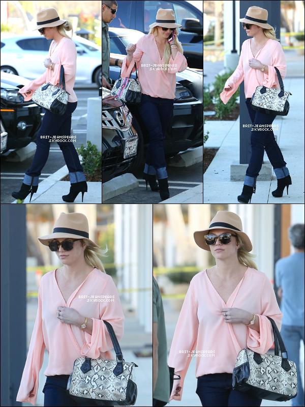 . Britney a été vue alors qu'elle quittait son cours de gym' à Los Angeles, le 23 janvier. .