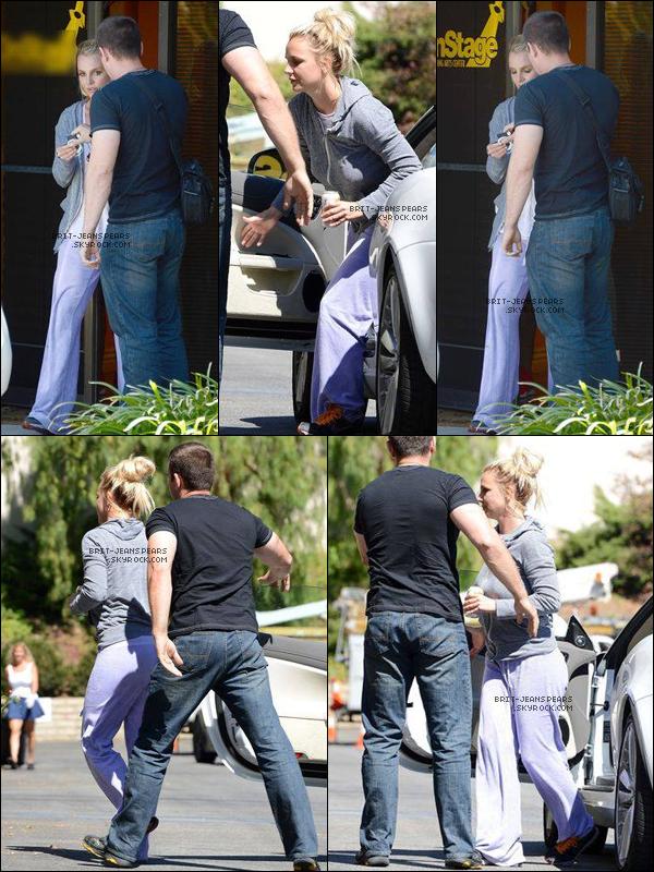 . Britney a été repérée alors qu'elle quittait un studio de danse, le 28 août. .