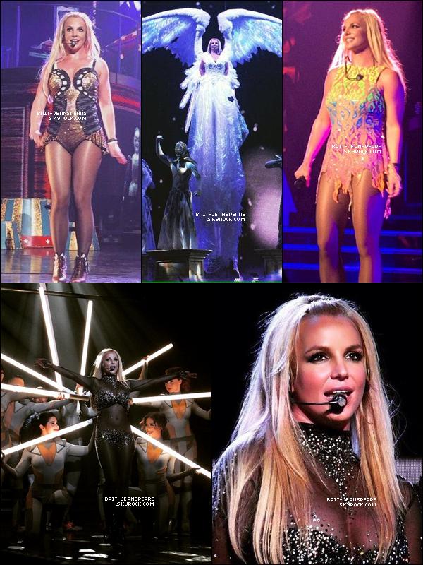 """. Brit' était guérie et en forme pour la reprise du show """"Britney : Piece Of Me"""", le 09 mai. ."""