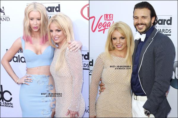 """. Britney était présente à la cérémonie des """"Billboard Music Awards"""", le 17 mai. ."""