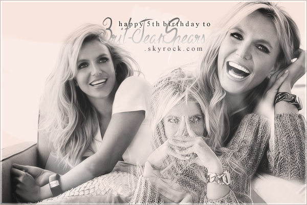 . 22 mai 2010 - 22 mai 2015 : Happy 5th birthday to Brit-JeanSpears ! .