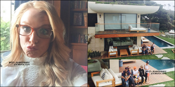 . Nouvelles photos/vidéos de Britney postées par la belle sur son compte Instagram. .