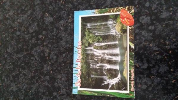 super carte postal de la ILE de la Reunion
