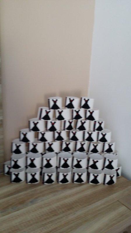 60 ronds de serviettes