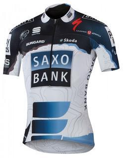 Maillots Saxo Bank