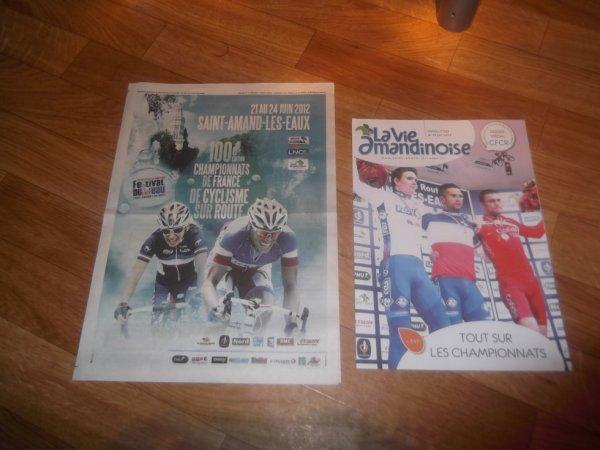 championnat de FRANCE 2012 : Documentation