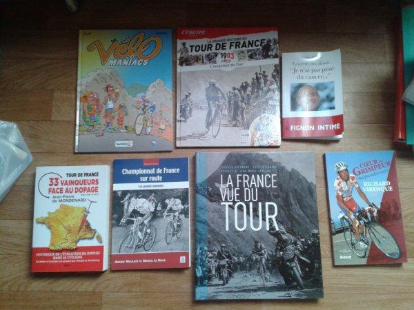 Mes livres sur le cyclisme