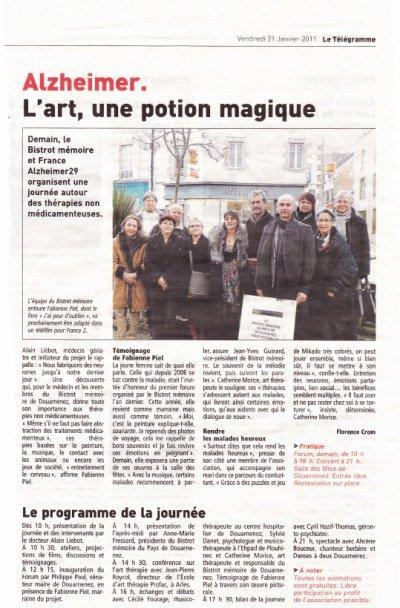 bistot memoireet forum sur l'art-therapie