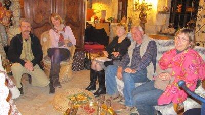 reunion de travail pour projet filharmony et  presentation a coté Avignon