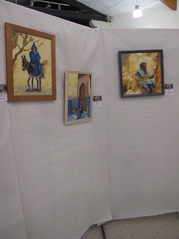 """expo peinture mornas """"carnet de voyage"""""""
