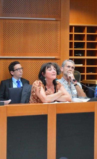 rencontre sans frontiere et rencontre au parlement européen avec la deputée mme grosstête