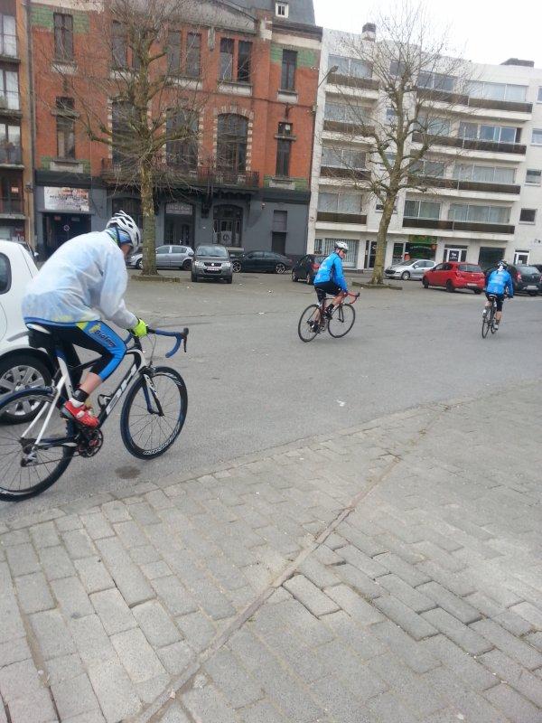 On roule au vélo club de Morlanwelz 08 avril 2018