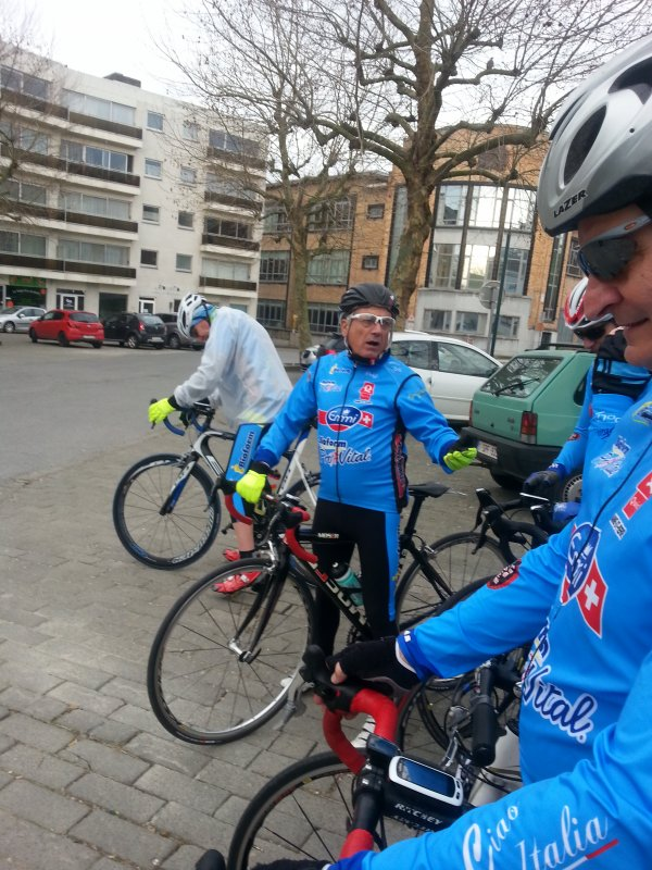 On roule au vélo club de Morlanwelz 08 avril 2018