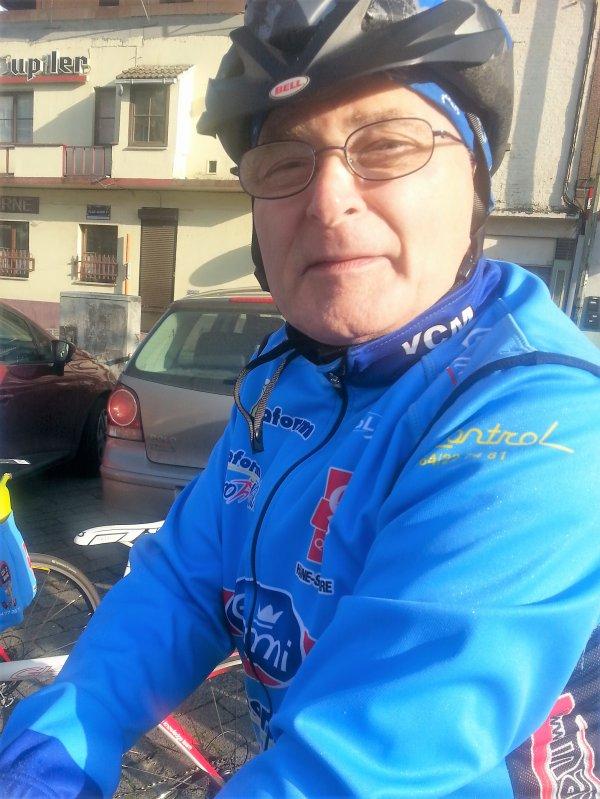 Sortie du vélo club de Morlanwelz dimanche 15 avril 2018