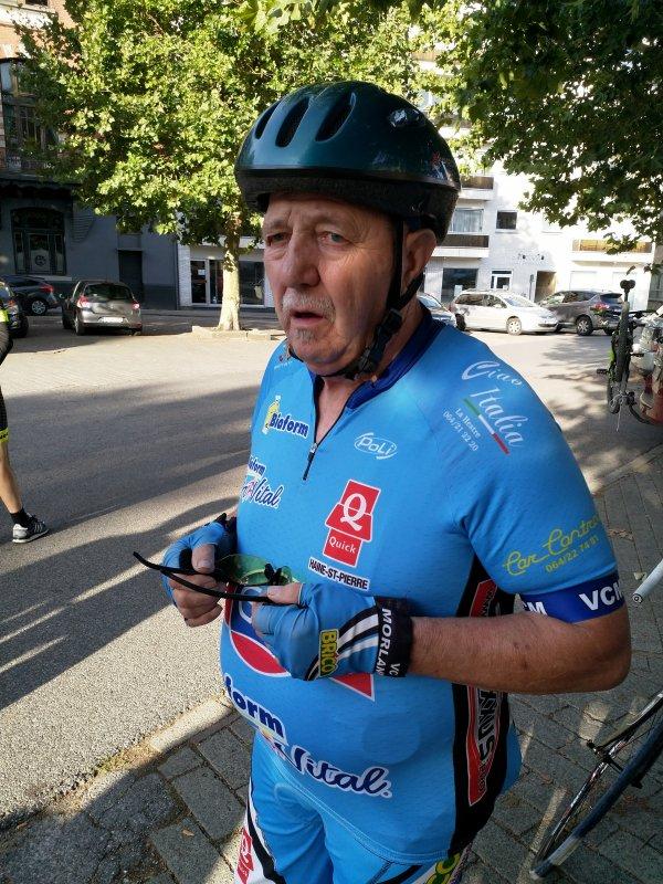 Sortie du Vélo club de Morlanwelz dimanche 12 août 2018