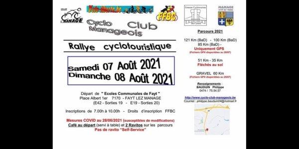 Rallye Cyclo Manage