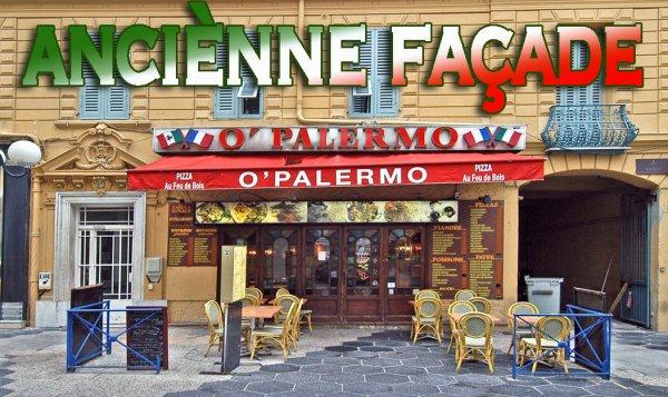 1) RESTAURANT - O PALERMO - façade