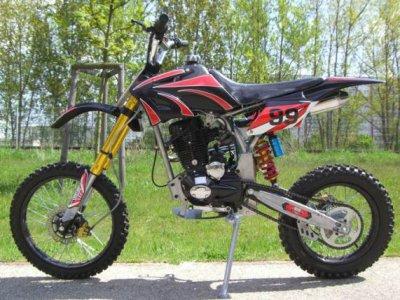 Dirt Bike 200cc Modele Racing Tuning