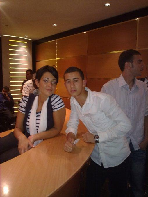 Moi et Sherufa Luna